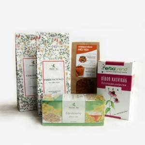 Teák - csomagoltak